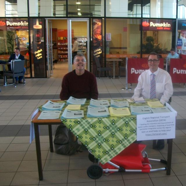 ERTA Promotion Stall at Milton Keynes - Simon Barber and Richard Pill(2)