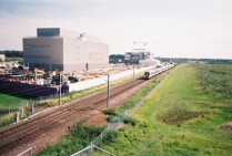 Site of proposed Cambridge South station Addenbrookes